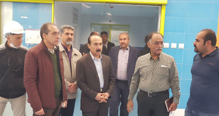 Dr. Paridar and Dr.Mirshakak visited 400-bed hospital of Dezfoul project